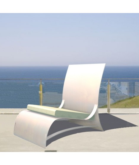 Outdoor easy chair