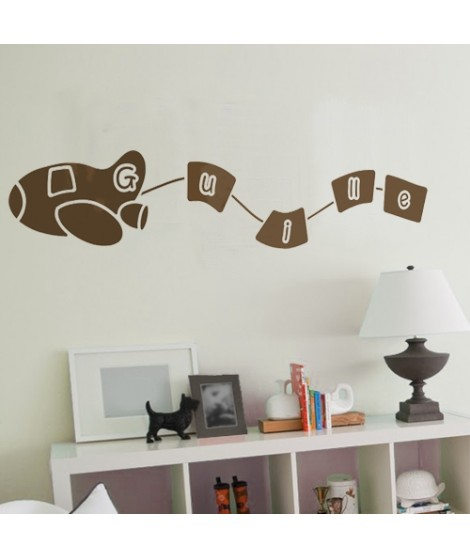 Customized Plane Decal Sticker