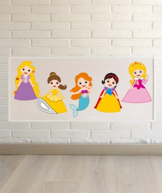 Princess Wall Art