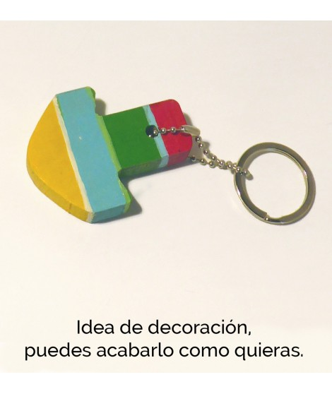 Diy Gift Key Ring Holder