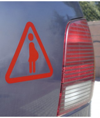 Pregnacy sticker