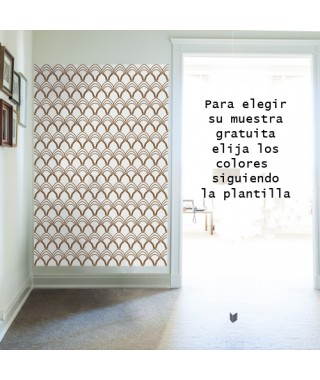 wallpaper vintage pavo real