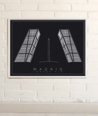 Madrid Prints KIO Towers