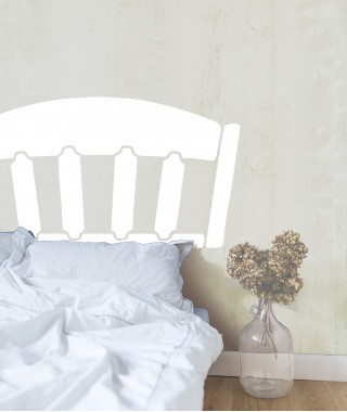 Shaker Sticker Headboard