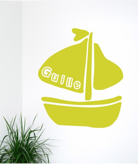 Personalized Ship sticker