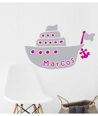 Personalized  Sailboat Decal