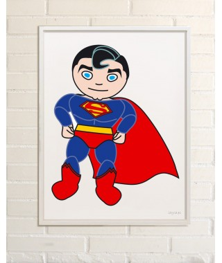 Ilustracion Superheroe Superman
