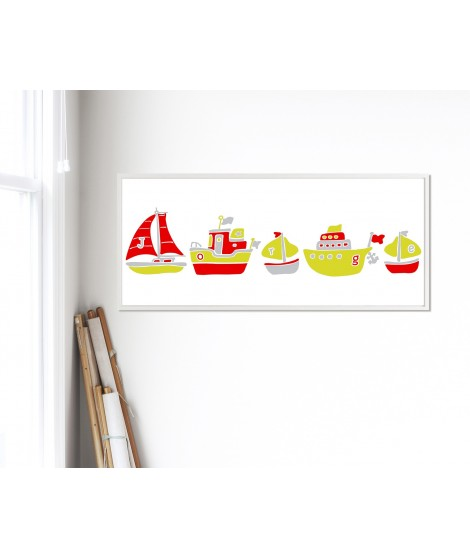 Personalized  Wall Art Ship