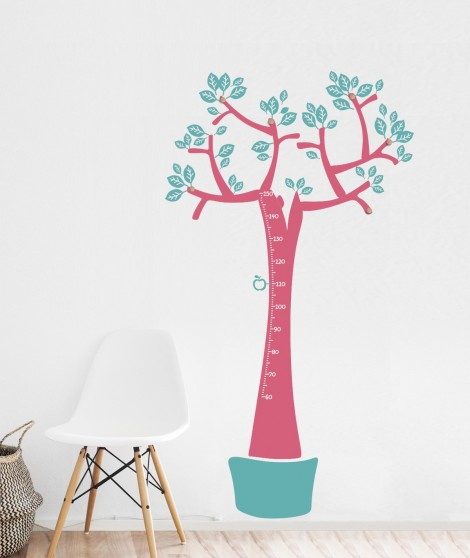 Wall hanger and meter tree colorful