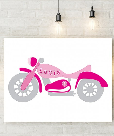 Personalized  Wall Art Bike