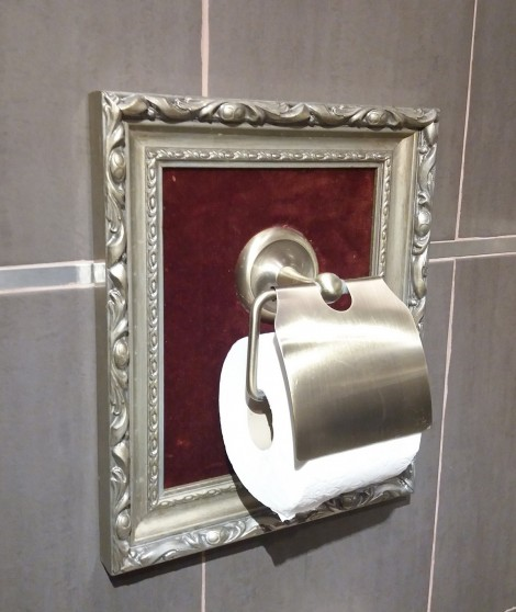 Ironic Gift Toilet paper holder