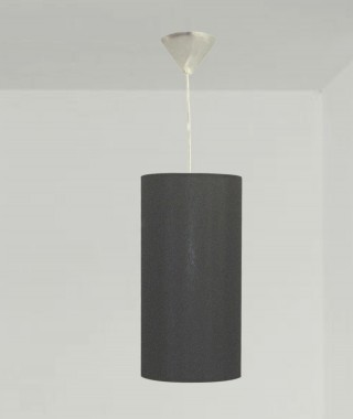 Linen Hanging lamp small